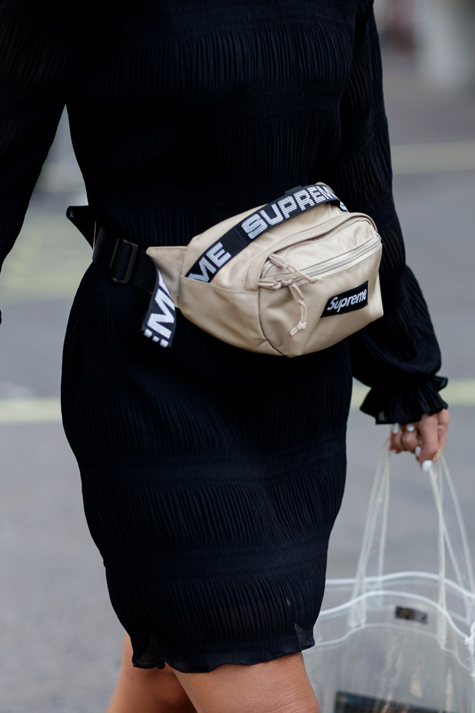copenhagen street style bags11 Copenhagen Fashion Week Nike Supreme