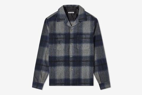Heusen Check Overshirt