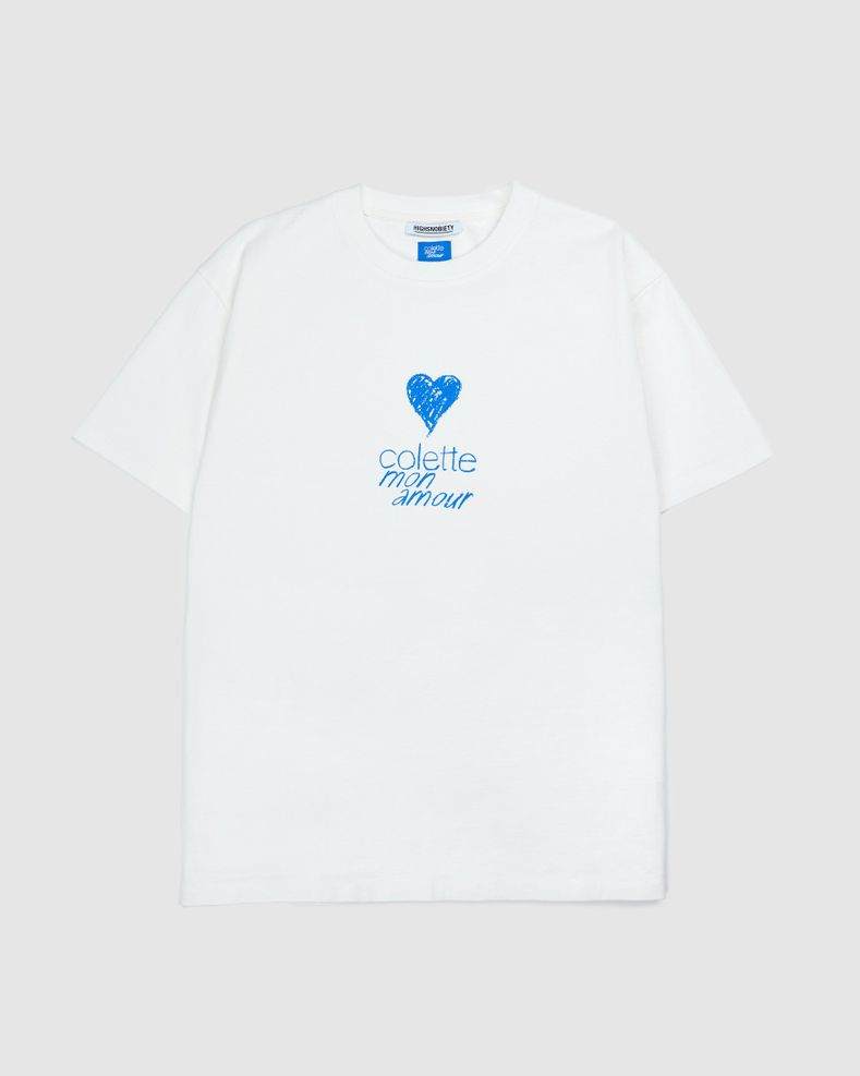 Colette Mon Amour — Heart T-Shirt White