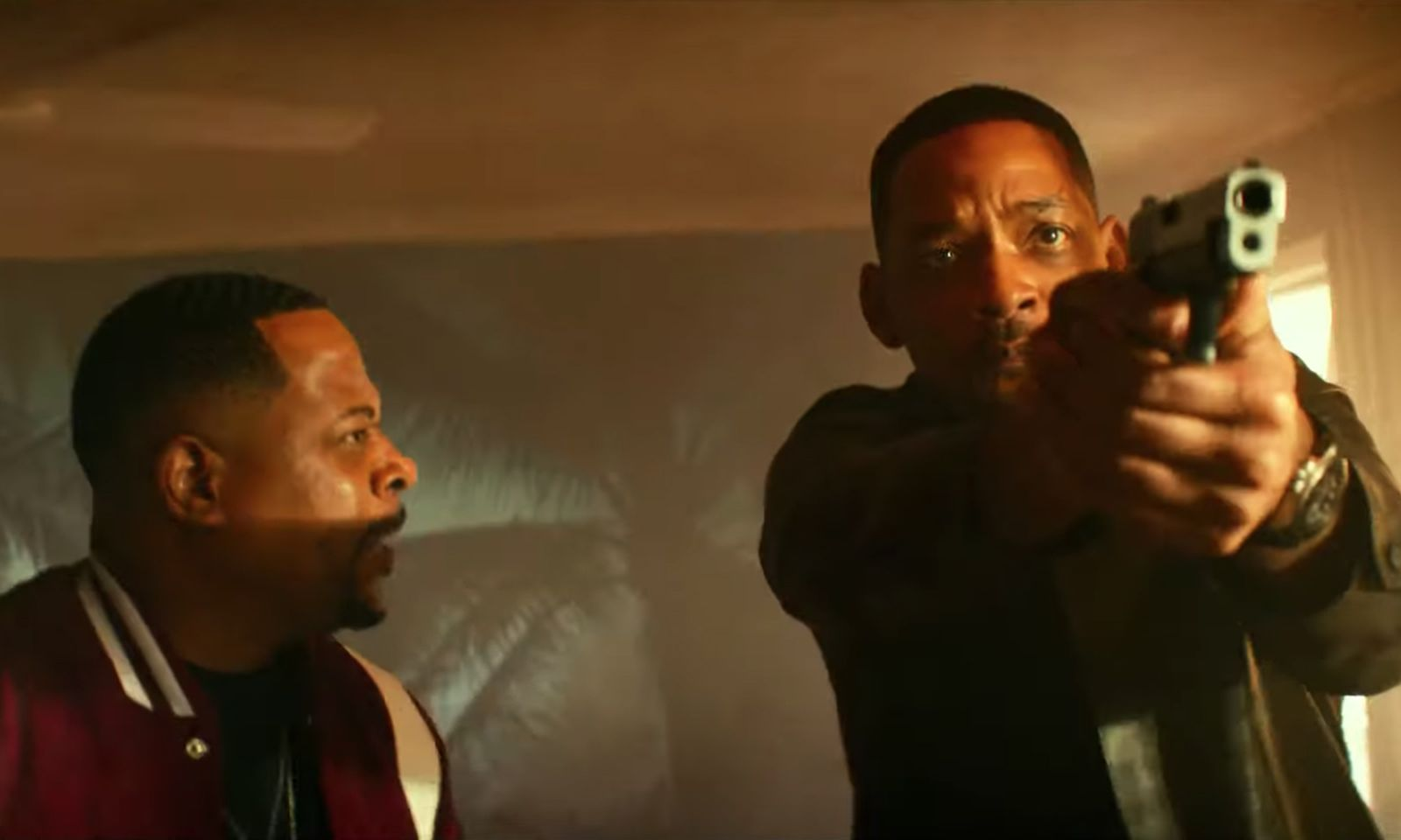 bad boys for life trailer feat Ariana Grande Martin Lawrence Nike