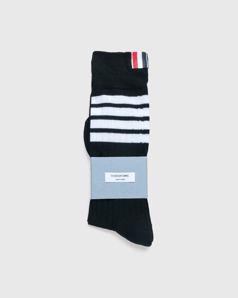 Thom Browne x Highsnobiety — Men's Mid-Calf Socks Grey