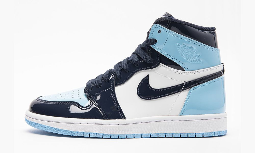 """41361751eb8c64 Nike Air Jordan 1 """"UNC"""" Patent Leather  Where to Buy Today"""