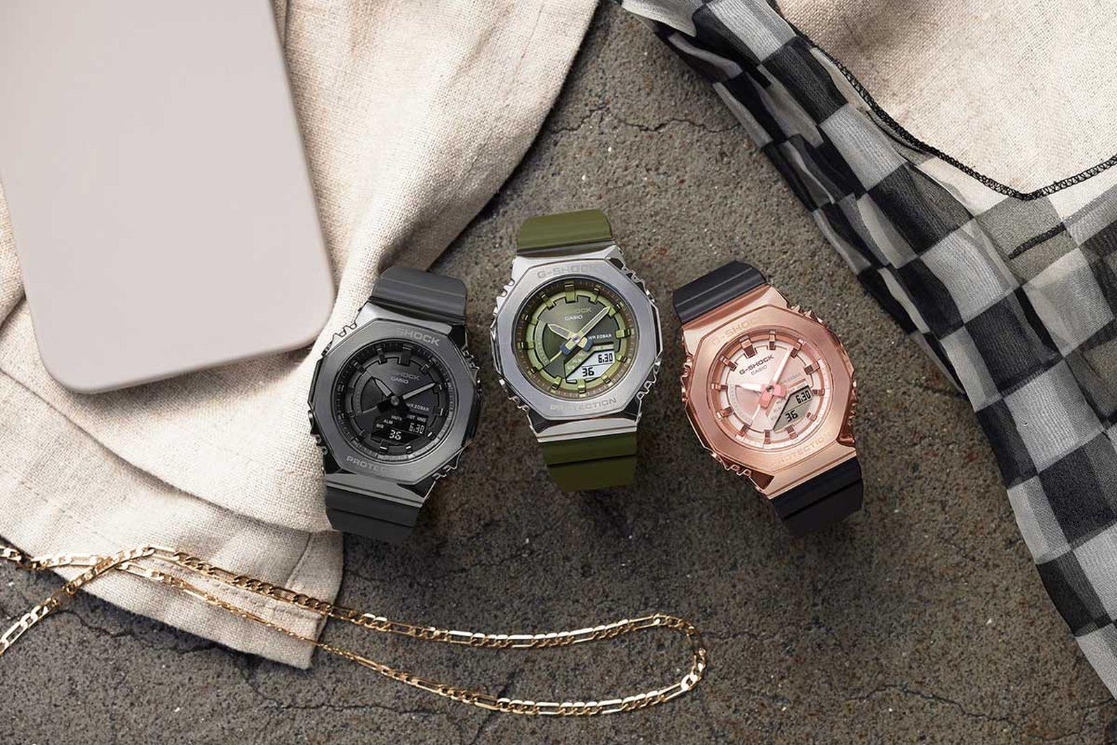 casio g-shock gm-2100 metal watch collection release date info price casioak