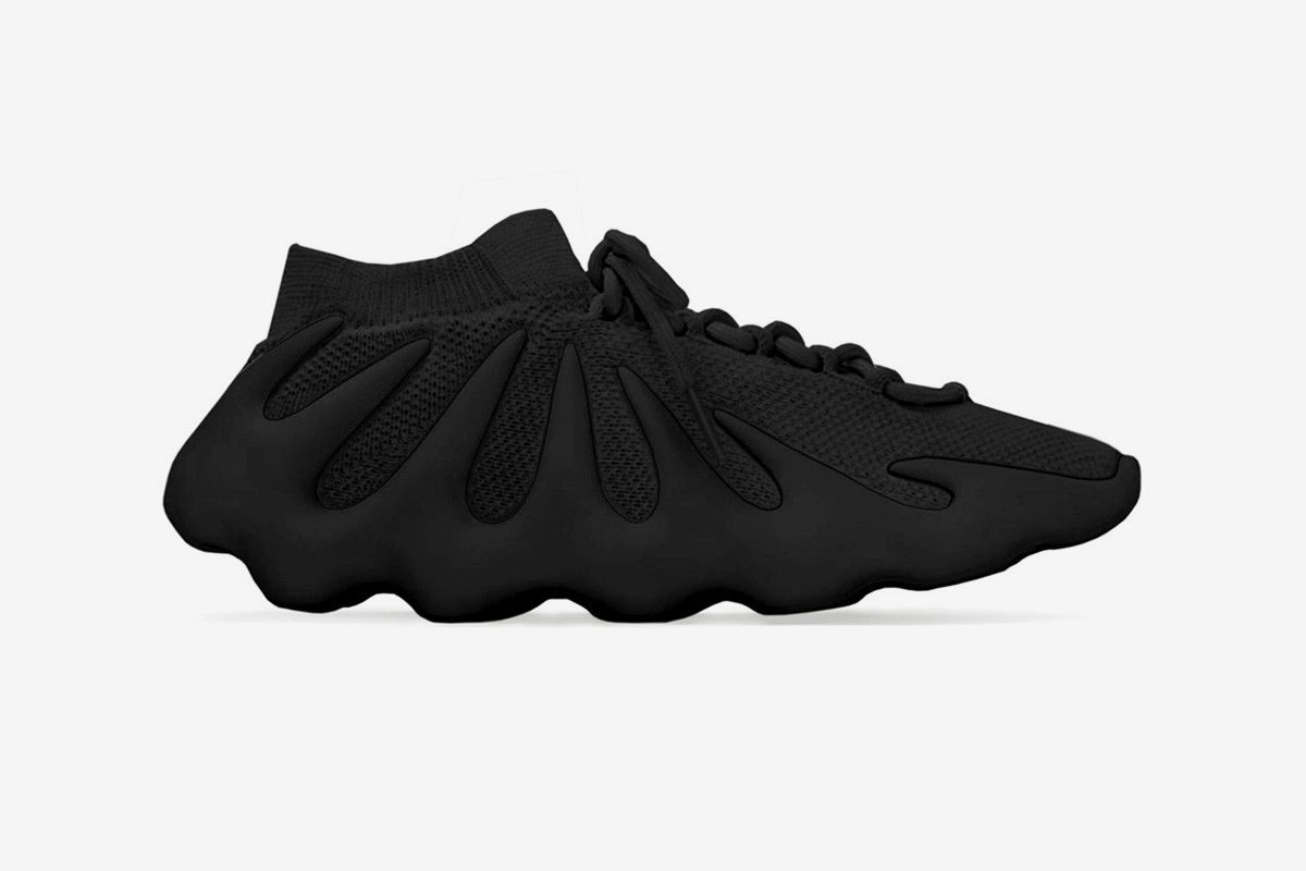 Kanye's Buzzing adidas YEEZY 450 Gets an All-Black Colorway 3