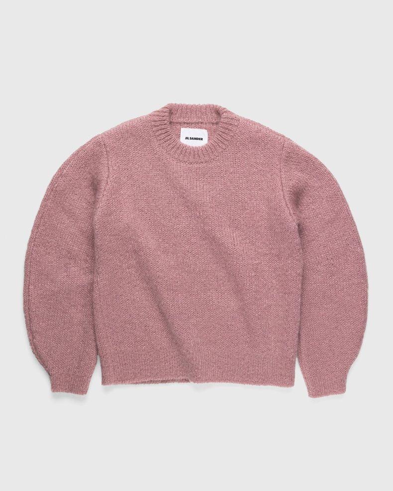 Jil Sander – Knitted Sweater Pink