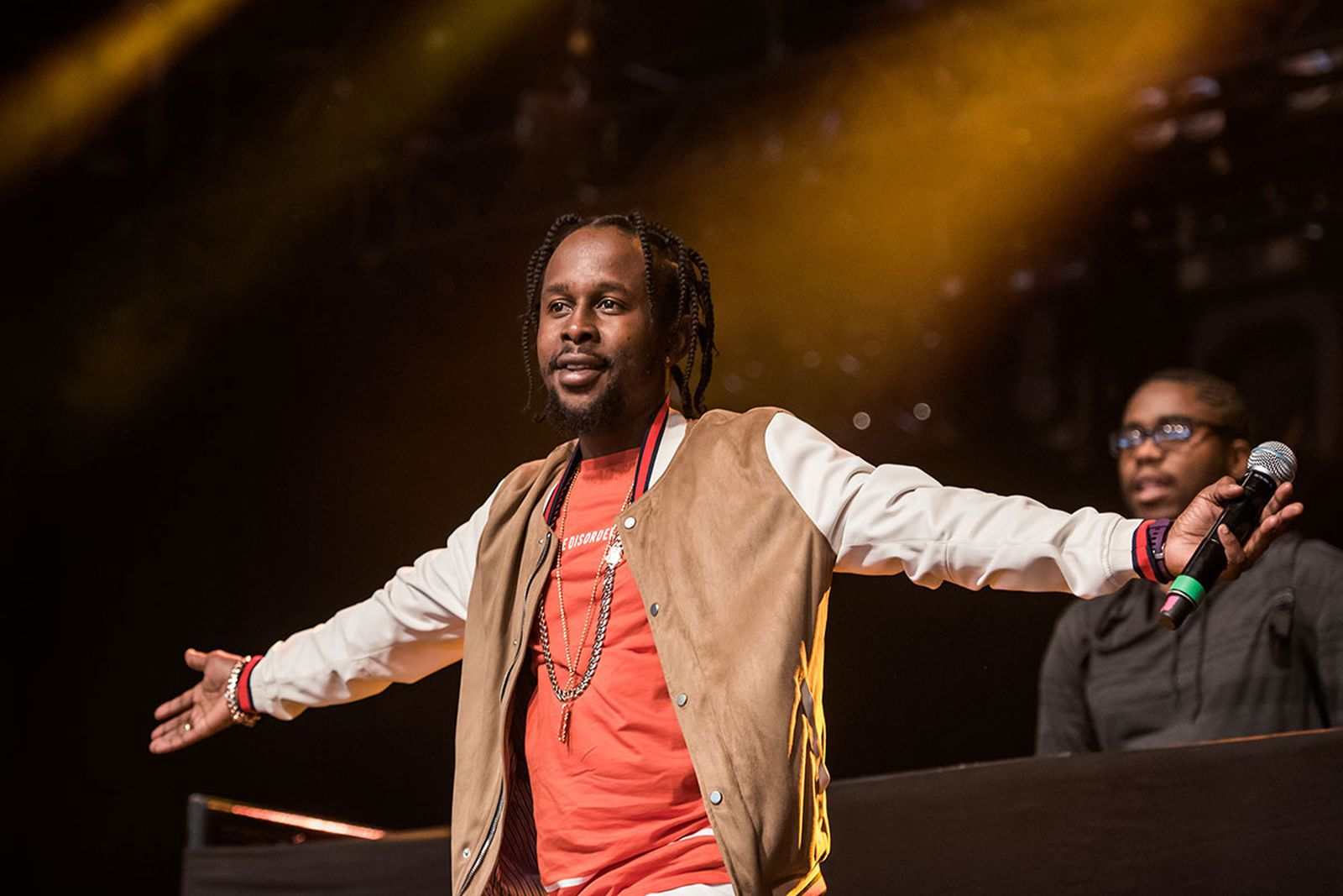 Popcaan performs at Roskilde festival