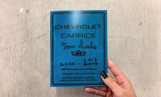Tom Sachs Launches Second Edition of His 'Caprice Owner's Manual' Book