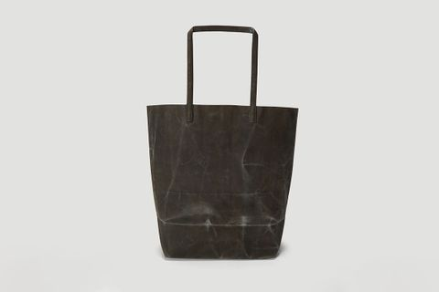 002 Waxed Long Handle Bag