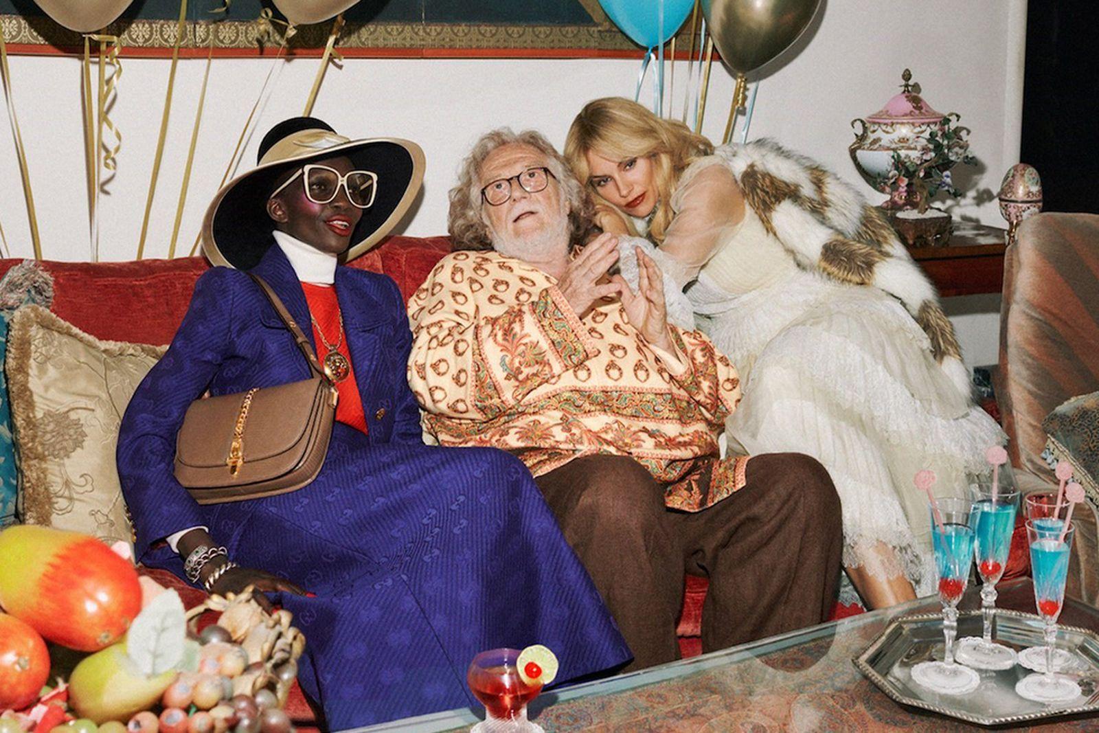 gucci cruise 2020 campaign Gucci Mane iggy pop