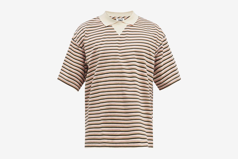 Frat Striped Polo