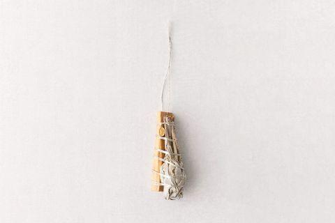 Sage Incense Bundle Ornament
