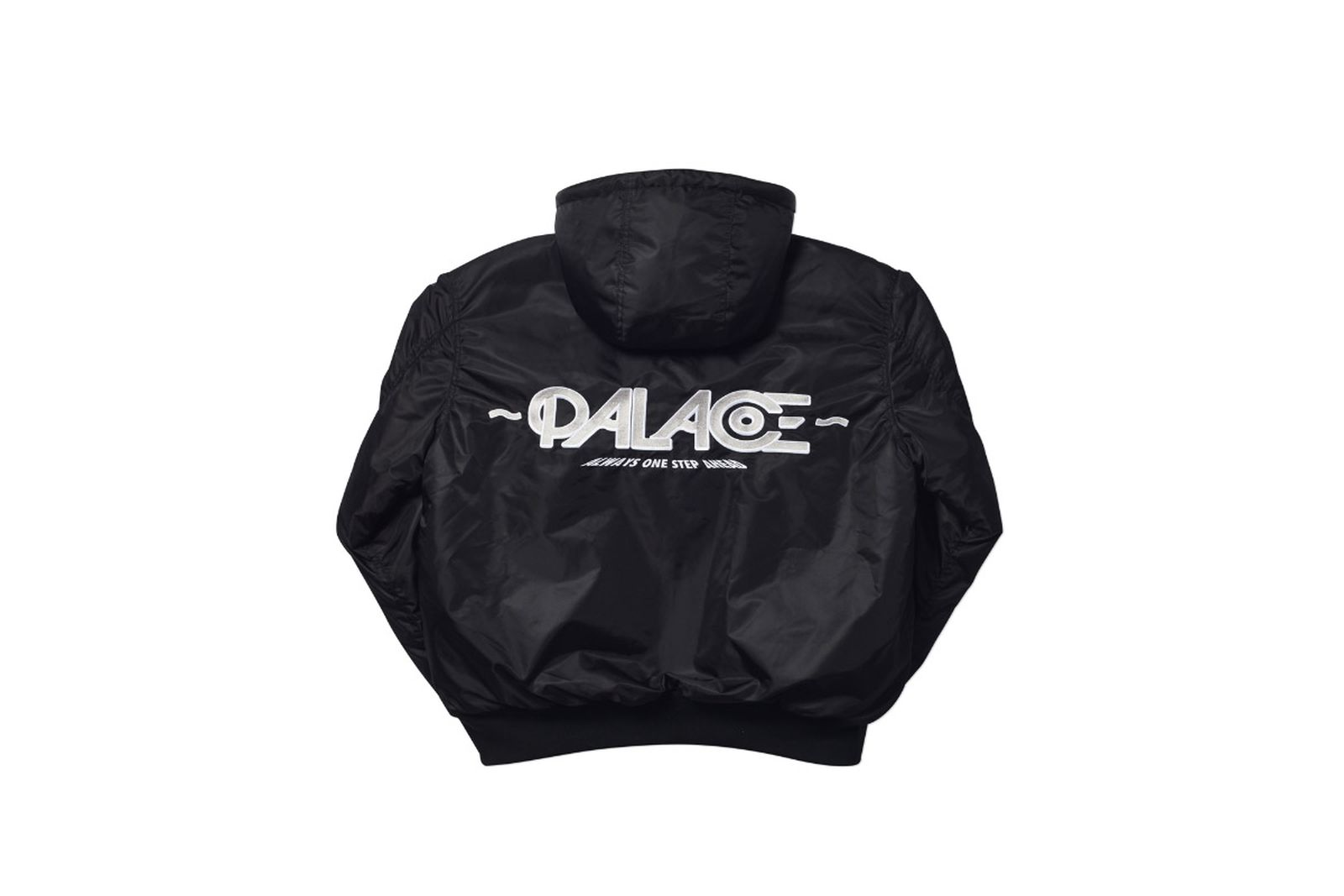Palace Autumn 19 jkr hooded bomber blk4444 fw19