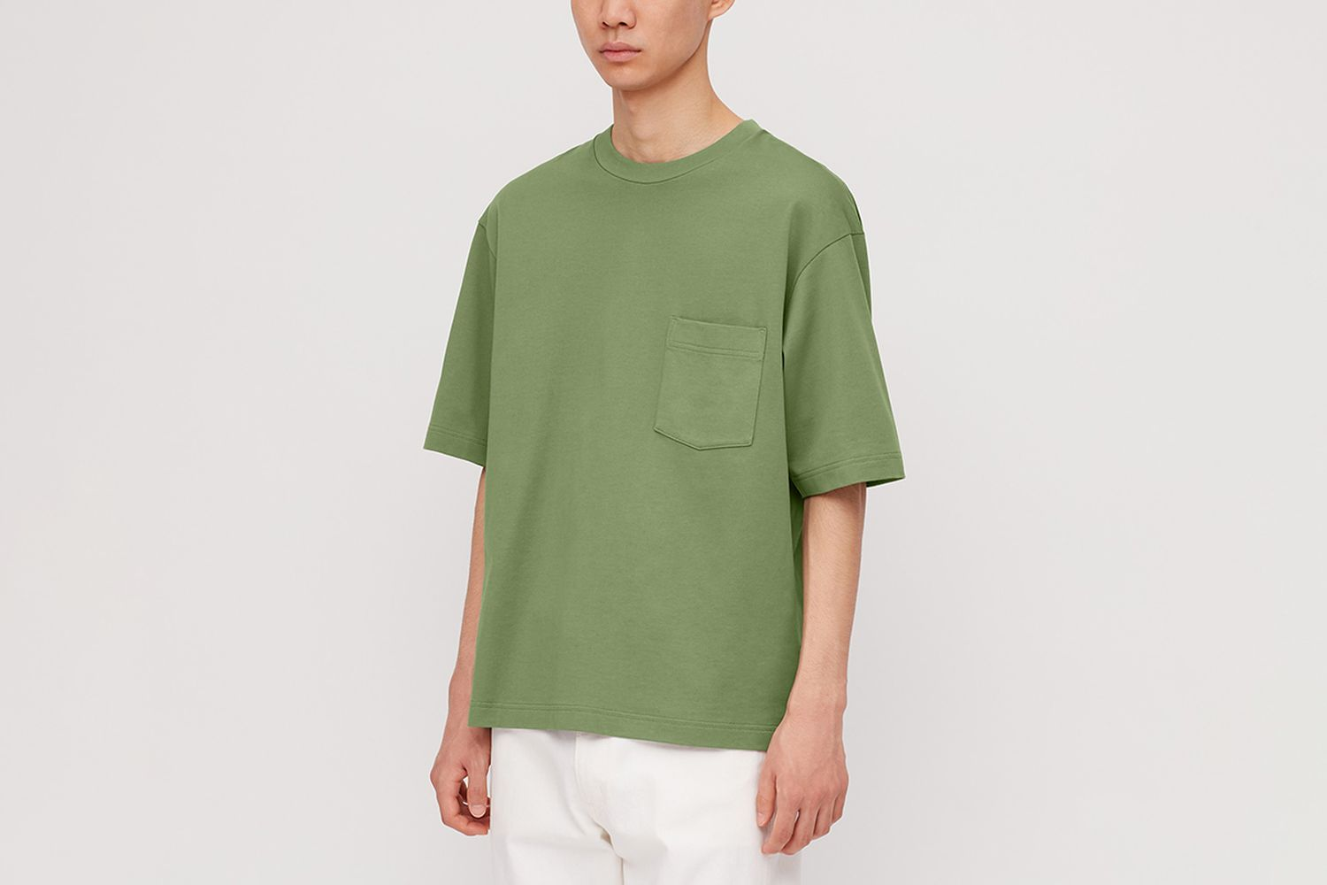 Oversized Crew Neck Short-Sleeve T-Shirt