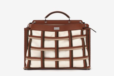 Peekaboo Iconic Essential in Brown Leather