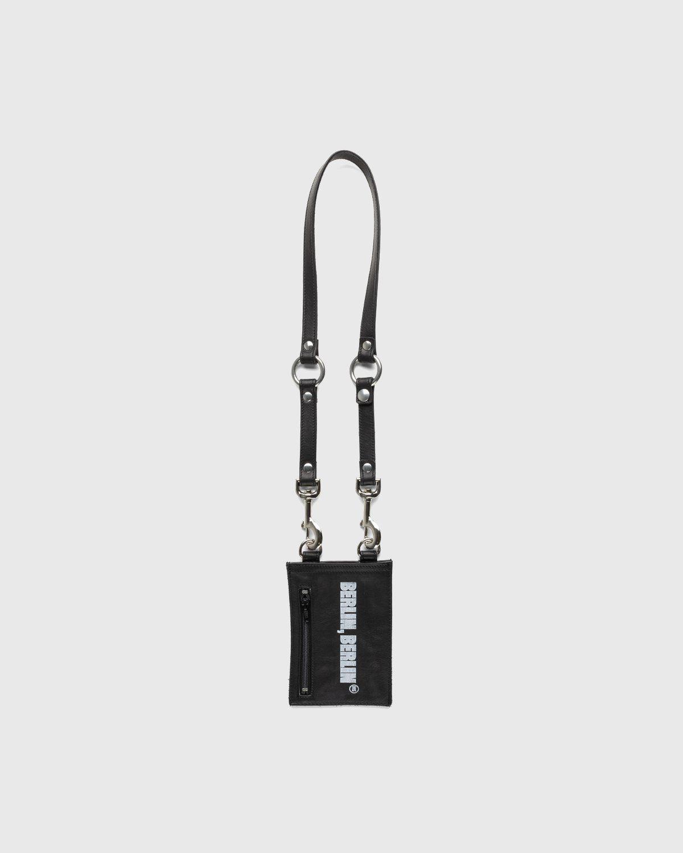 Highsnobiety x Butcherei Lindinger – Shoulderbag Black - Image 1