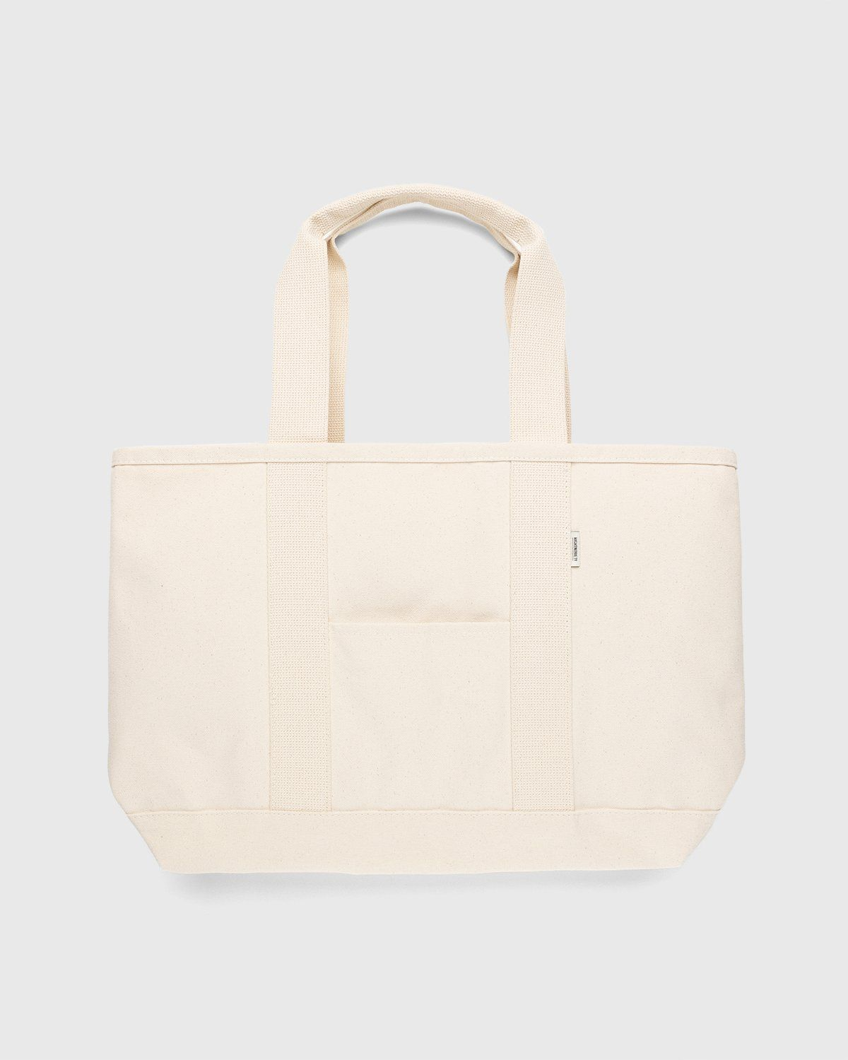 Highsnobiety – Heavy Canvas Large Shopper Tote Natural - Image 2
