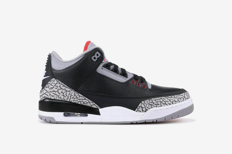 Air Jordan 3 Retro OG 'Black Cement'