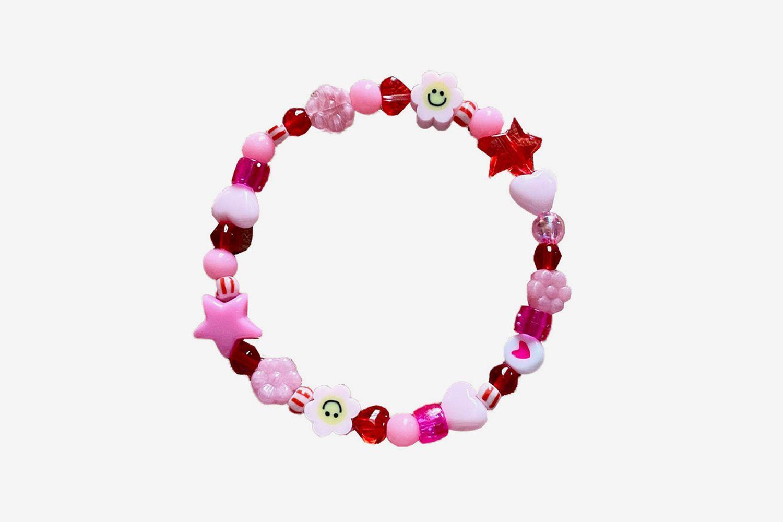Glass & Acrylic Bracelet