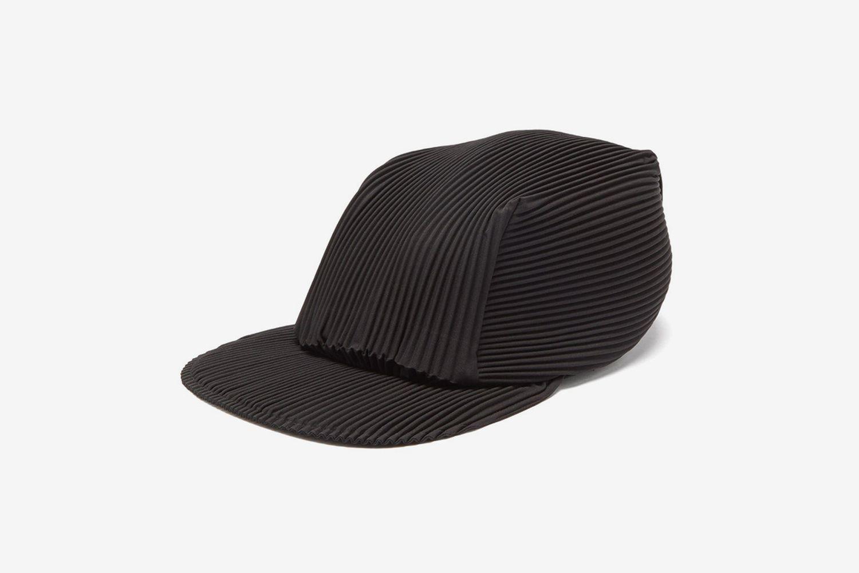 Pleated Baseball Cap