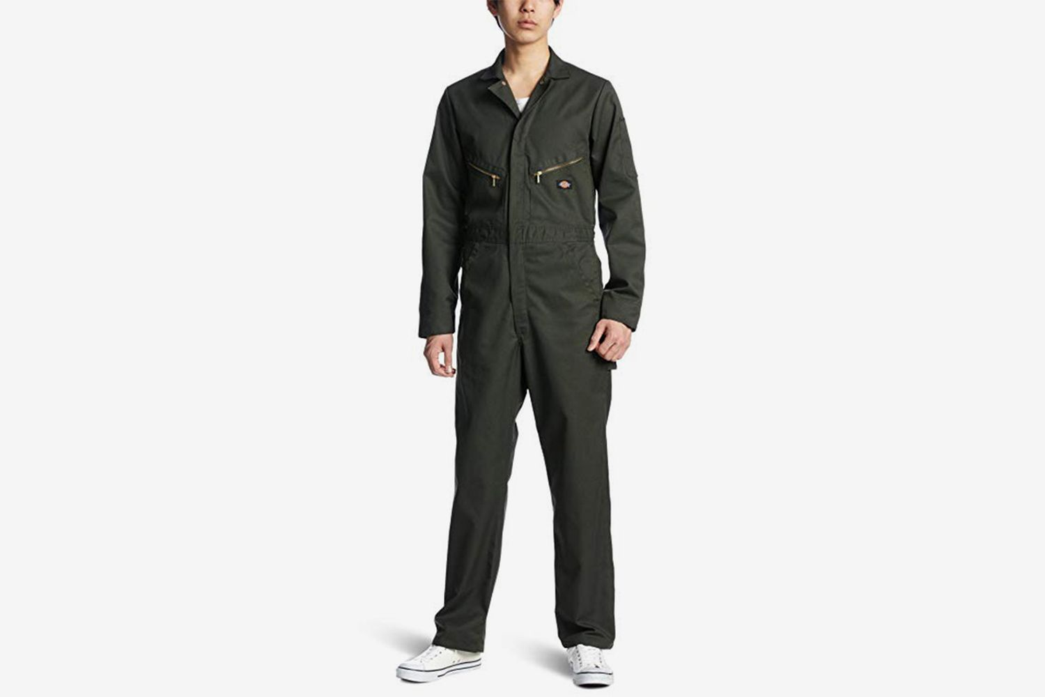 Twill Deluxe Long Sleeve Coverall