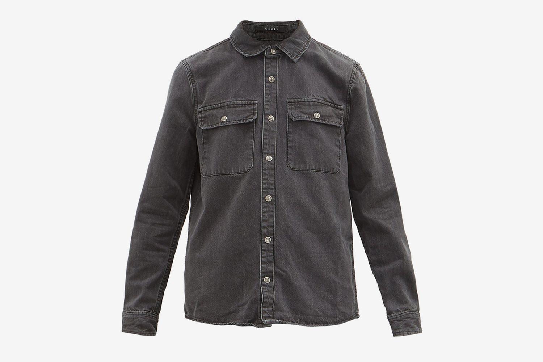 Showcase Washed-denim Shirt