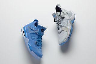 6a1b76a627c8 Nike Air Jordan 4 March Madness PE Pack  Official Closer Look