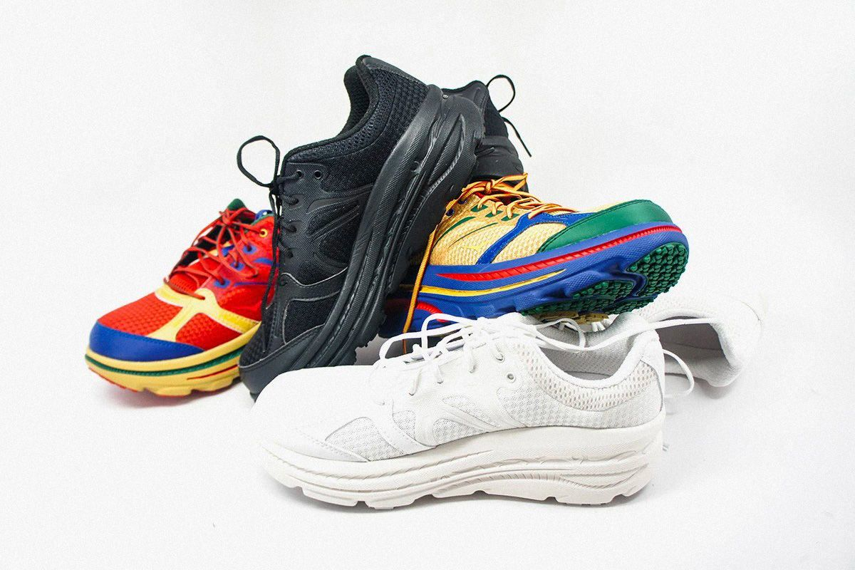 Hoka ONE x Engineered Garments Sneakers Trail
