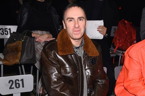 raf simons guardian interview Calvin Klein the guardian