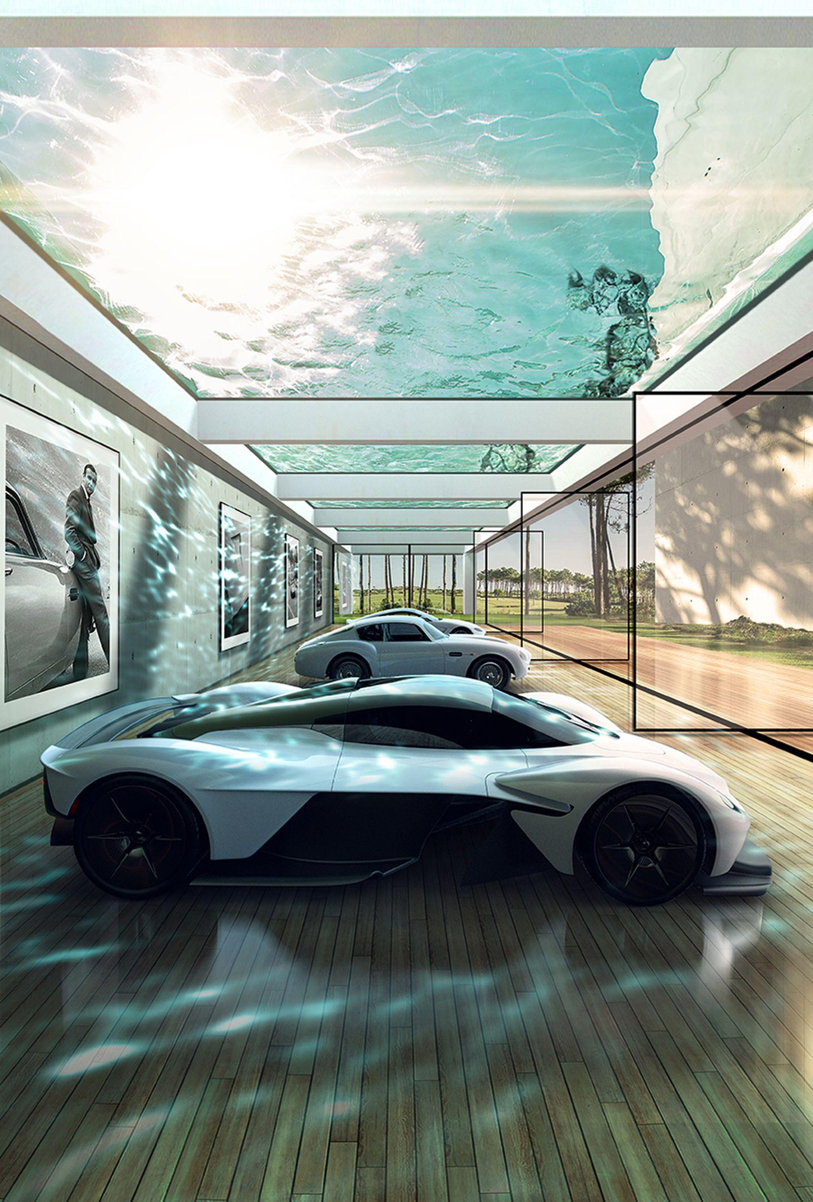 Aston Martin Announces Bespoke Garage Design Service