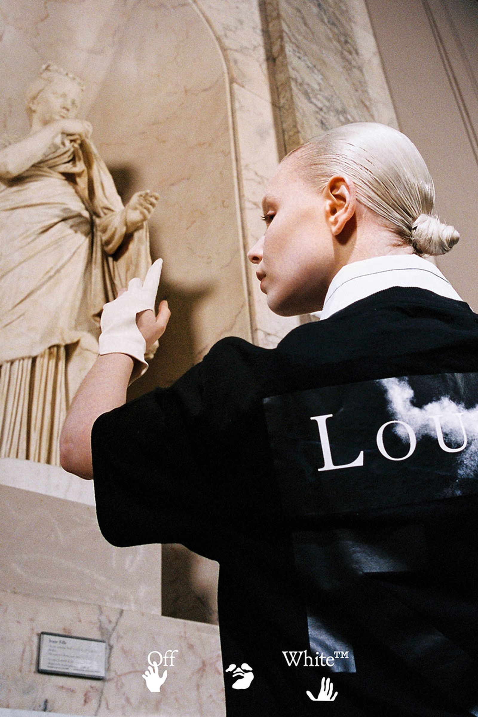 "Musée du Louvre and Off-White c/o Virgil Abloh anticipated ""Leonardo da Vinci"""