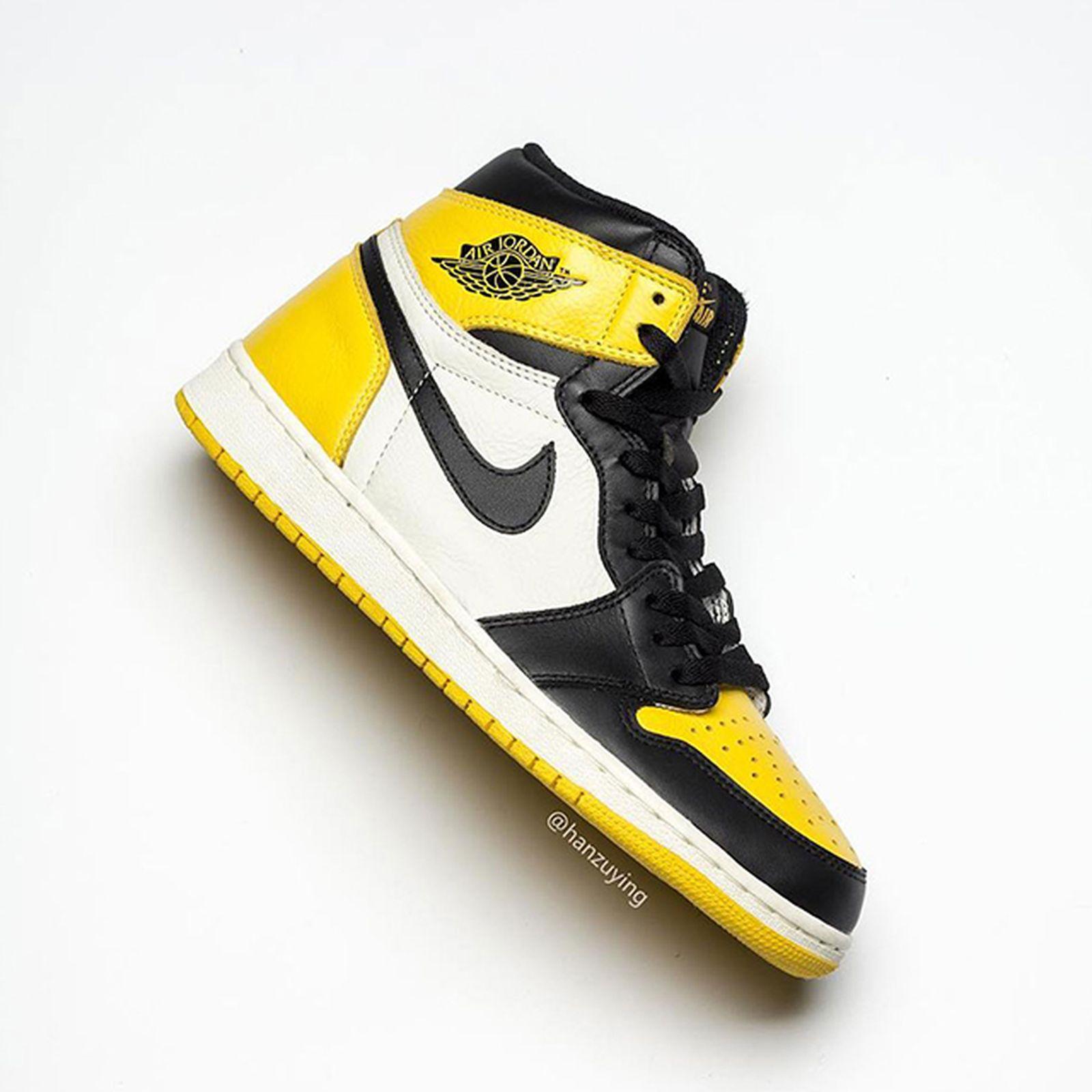 """Air Jordan 1 """"Yellow Toe"""": Release Date, Price & More Info"""