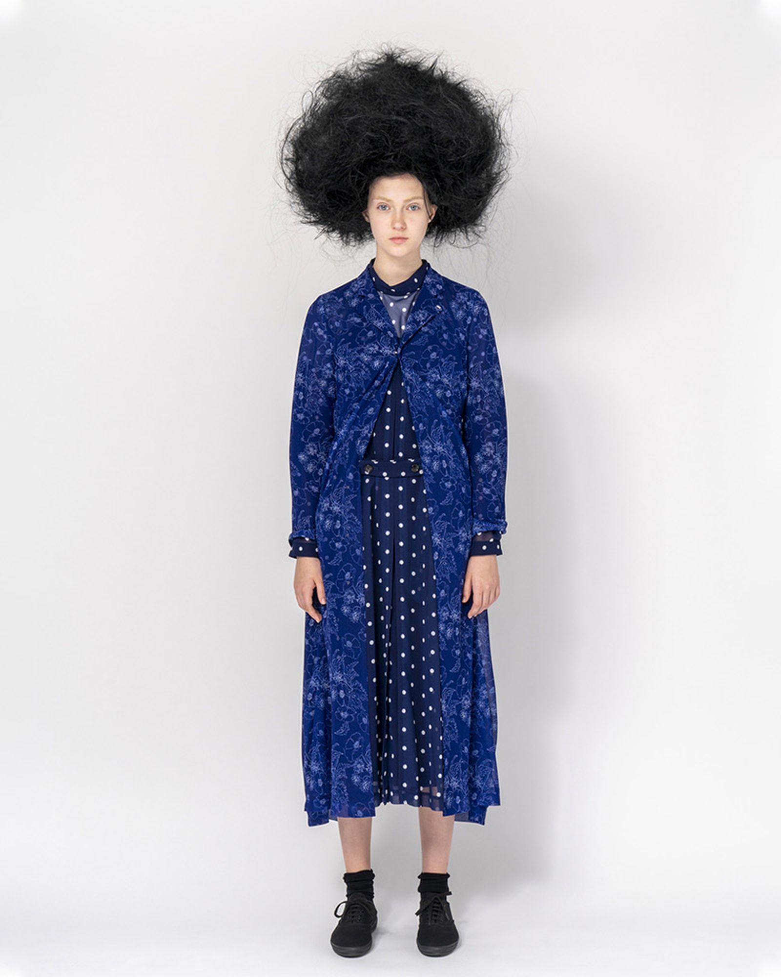 Commes De Garcons Dress on a model