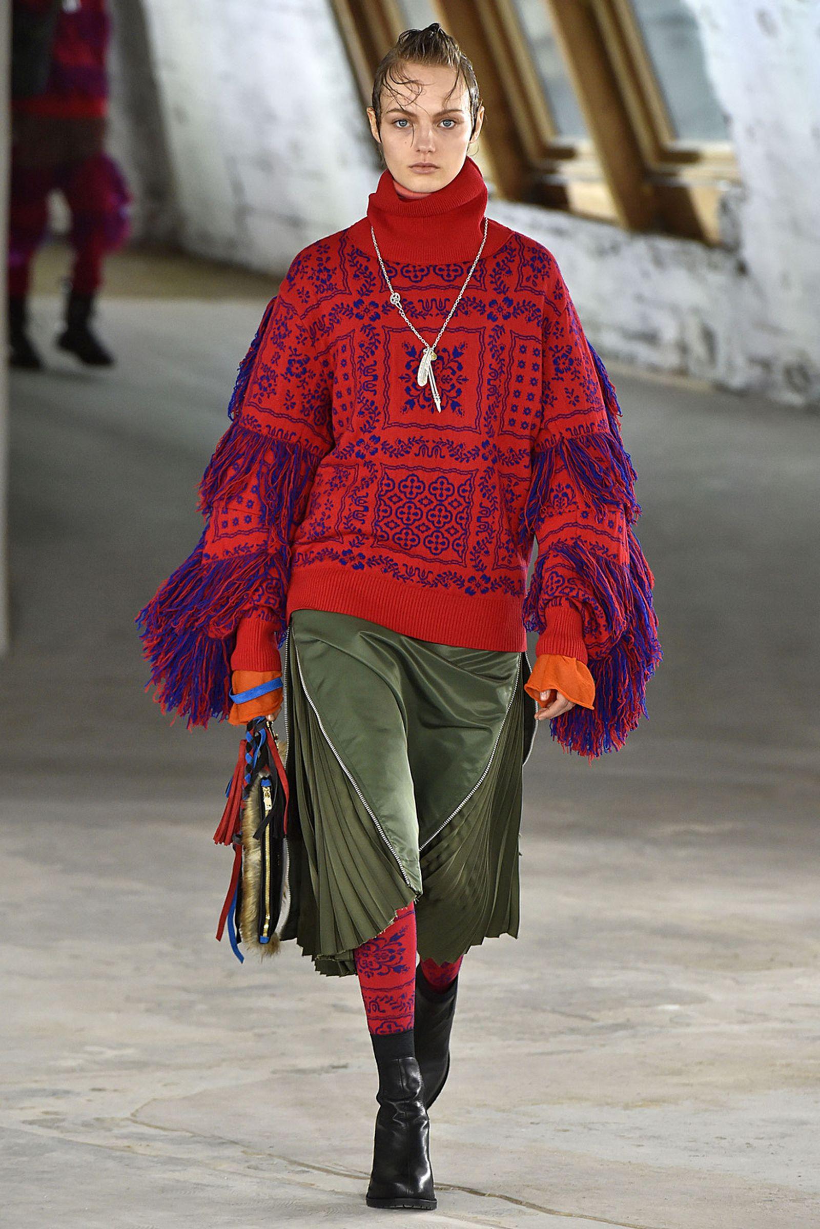 Sacai Paris Fashion Week Men Fall Winter 2018 19 Paris January 2018 fashion week 2018 runway uggs