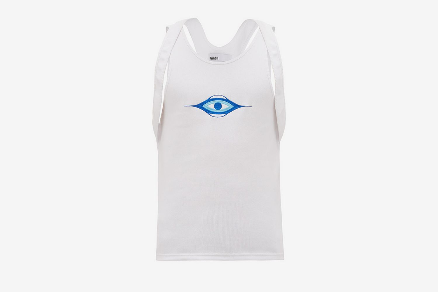Eye Embroidered Tank Top