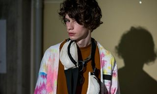 N.Hoolywood Layers Tie-Dye and Vintage Pieces at Tokyo Fashion Week