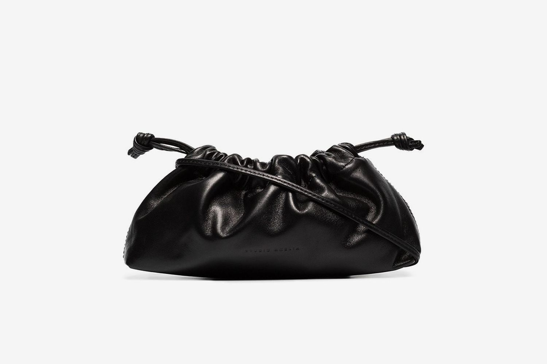 1.1 Drawstring Leather Mini Bag