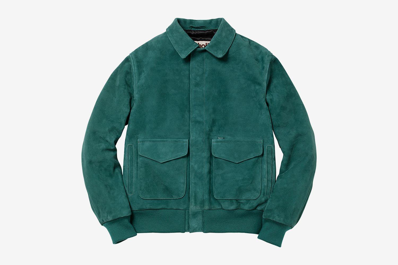 Suede A-2 Jacket