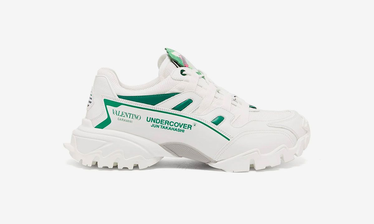 UNDERCOVER & Valentino's Poetic New Sneaker Collaboration Drops Today