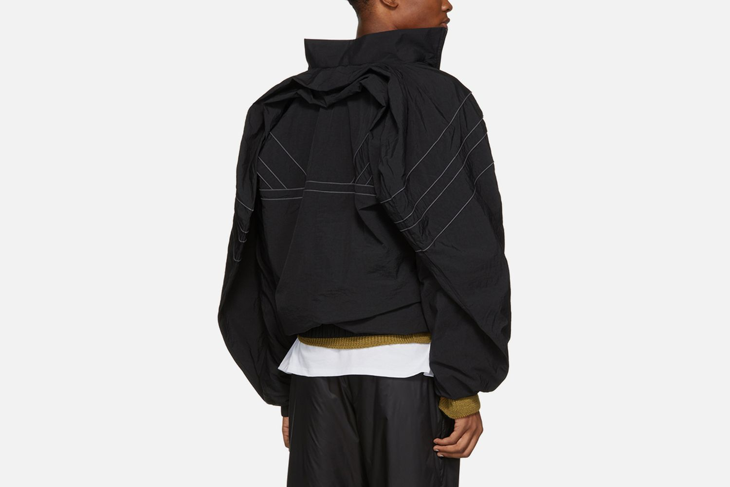 Clipped Shoulders Jacket