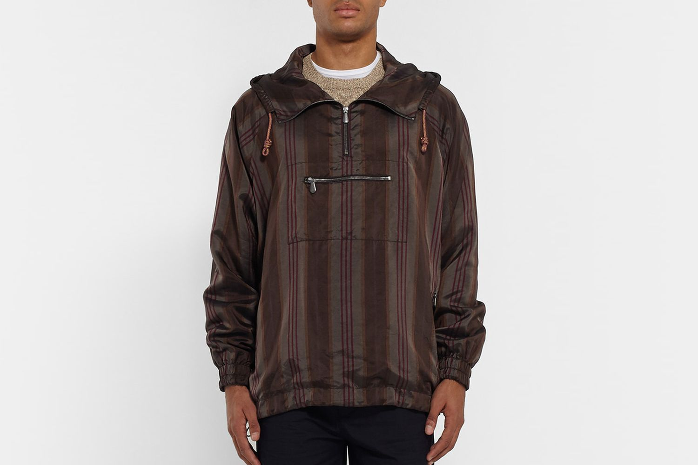 Satin Pullover Jacket