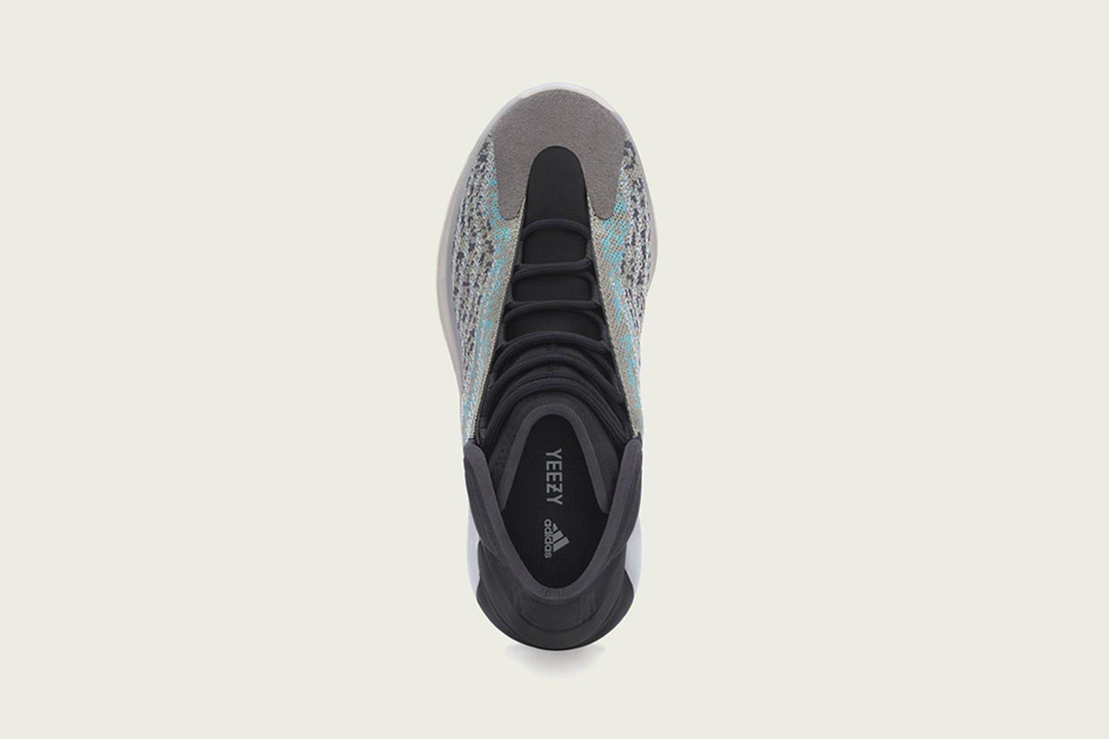 """adidas YZY QNTM """"Teal Blue"""""""