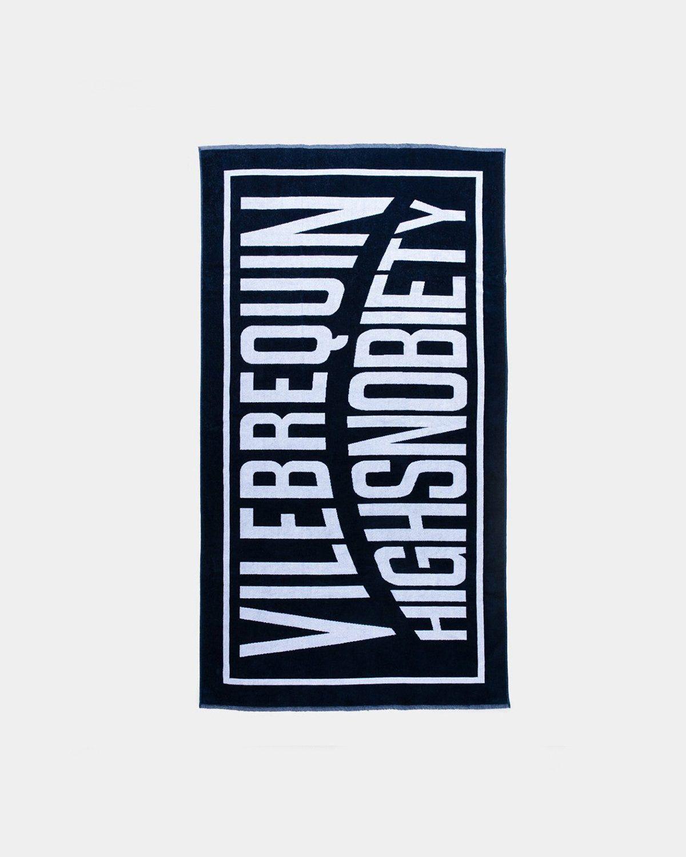 Vilebrequin x Highsnobiety — Logo Towel Navy - Image 1