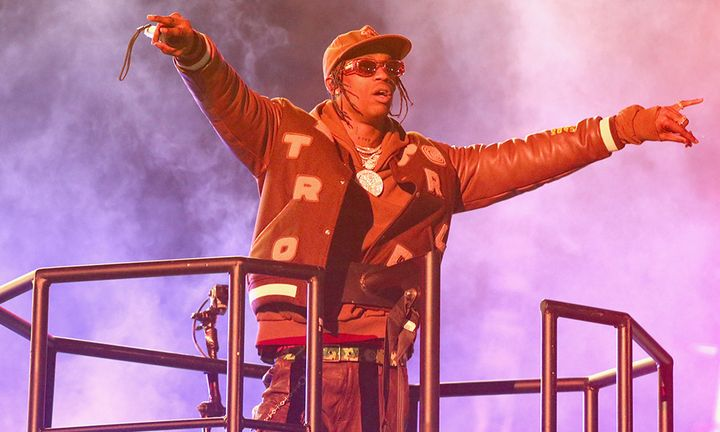 Travis Scott performs in concert during his second annual Astroworld Festival