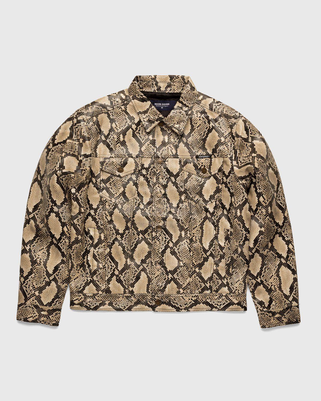 Noon Goons — Mojave Snakeskin Jacket Sand - Image 1