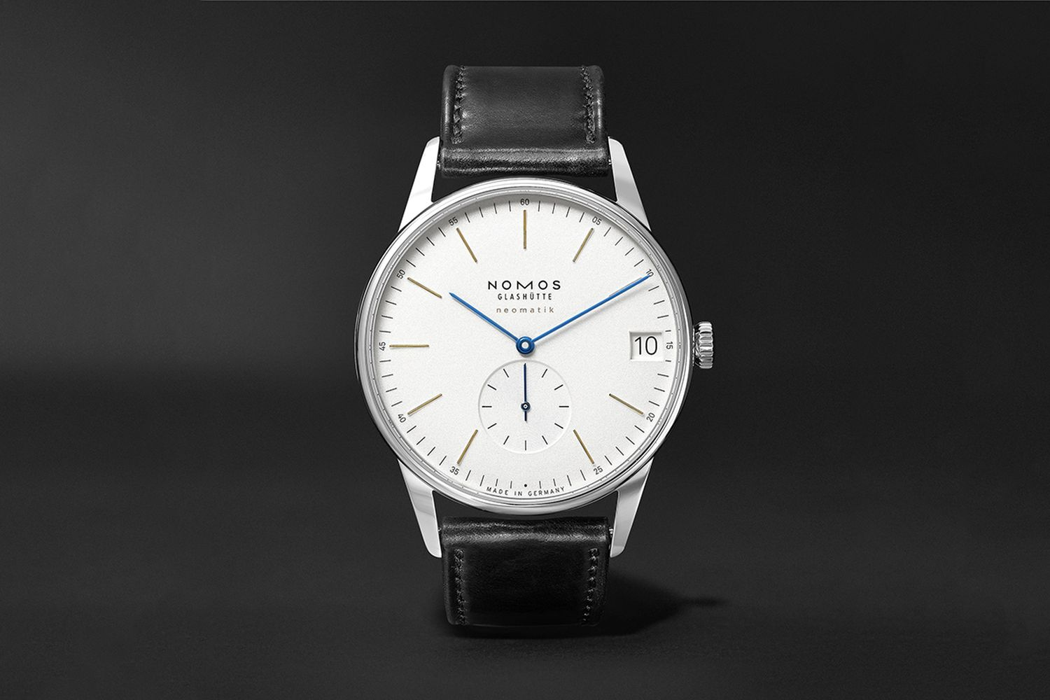 Orion Neomatik Automatic 41mm Stainless Steel And Leather Watch