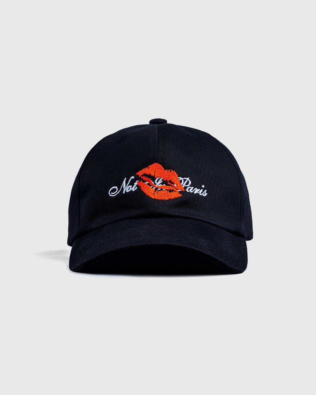 Highsnobiety — Not In Paris 3 Kiss Cap Black - Image 1