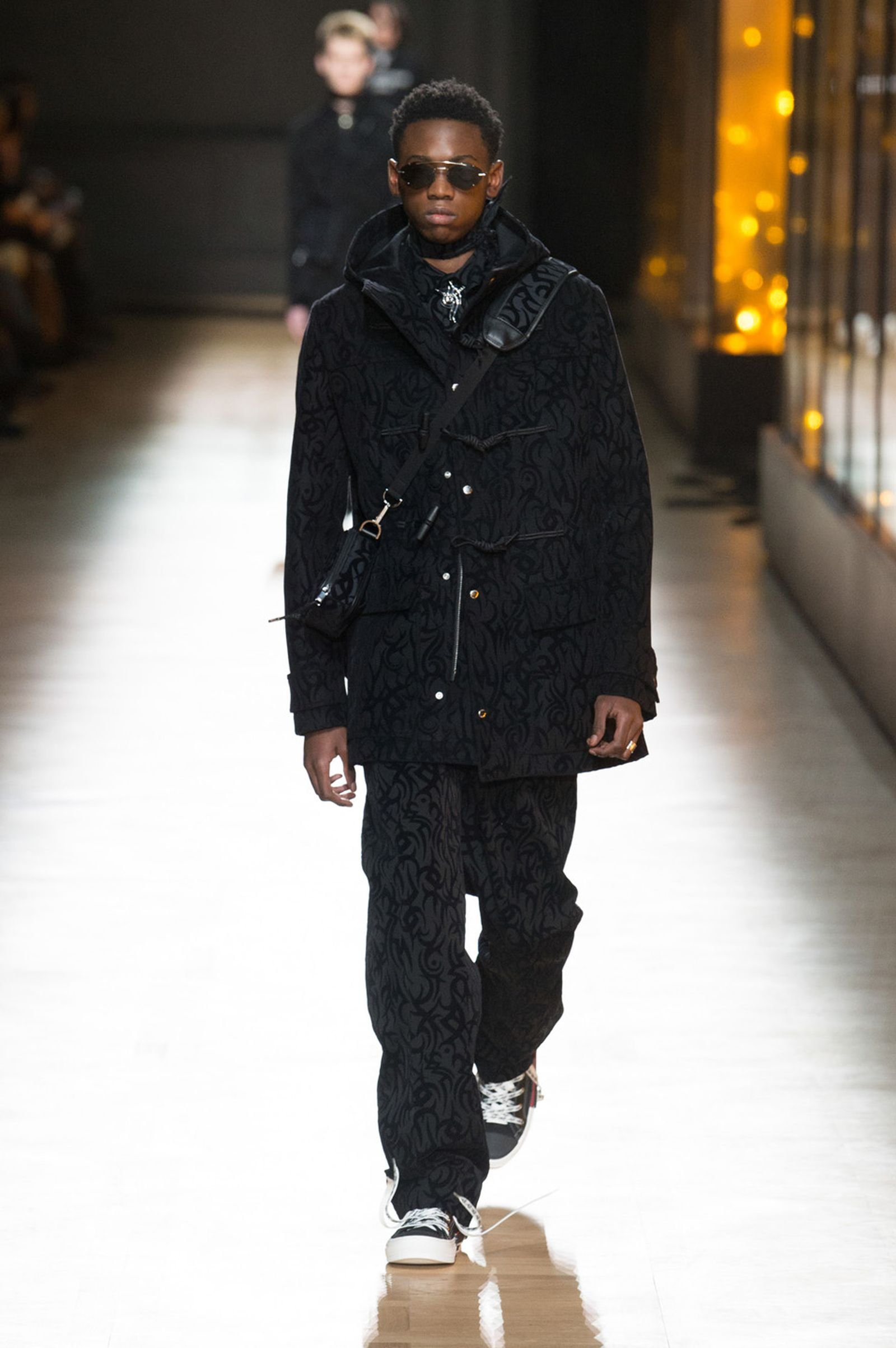 DIOR HOMME WINTER 18 19 BY PATRICE STABLE look44 Fall/WInter 2018 runway
