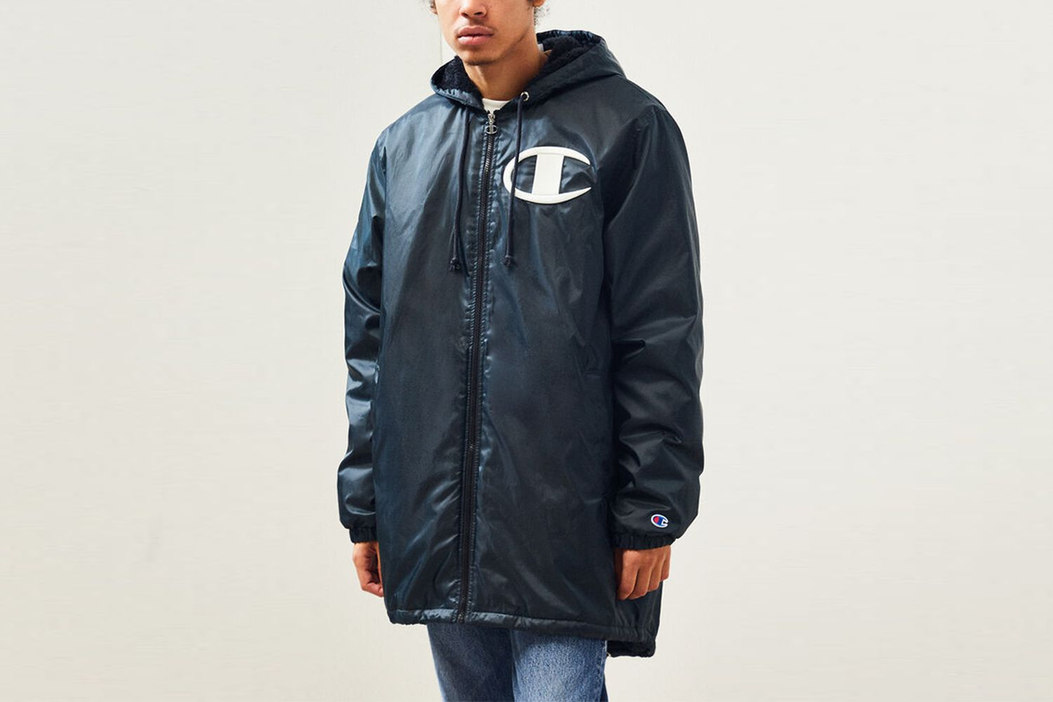 Sherpa Lined Stadium Jacket