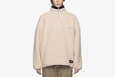 Fleece Zip Pullover
