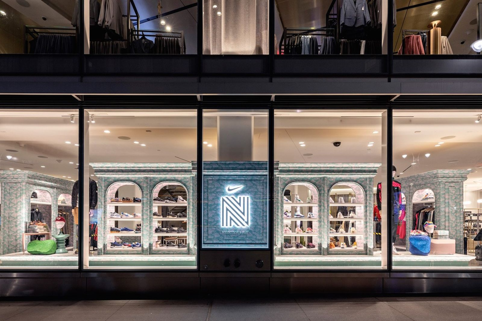 nike nordstrom nyc sneaker boutique